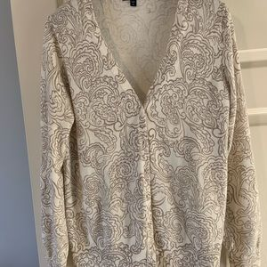 Soft cotton gap cardigan